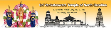 Sri Venkateshwara Temple of North Carolina